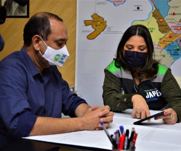 Prefeita Fernanda Ontiveros e Secretário Max Lemos anunciam construção da Maternidade de Japeri