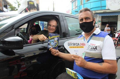 Japeri realiza ações de prevenção de acidentes de trânsito