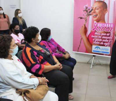 Outubro Rosa: Prefeitura de Japeri inicia eventos de prevenção ao câncer de mama